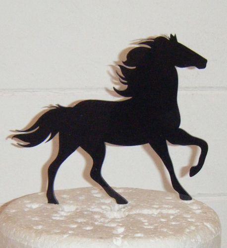 Horse Silhouette Cake Topper