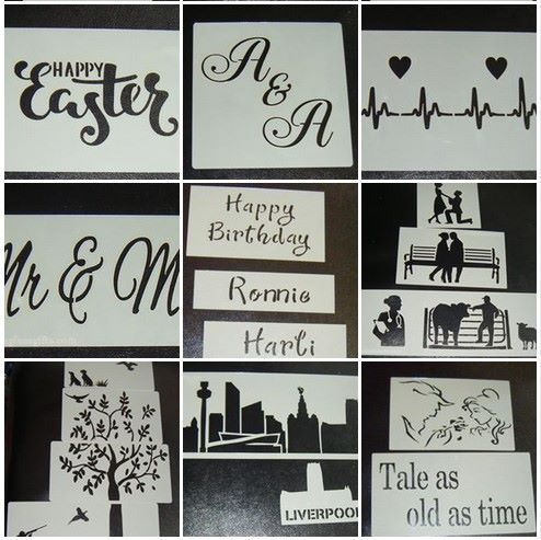 Cake or Craft Stencils