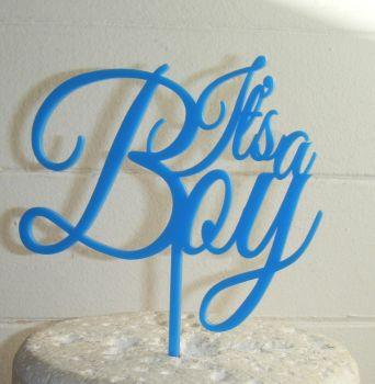 It's a Boy - Baby Shower Cake Topper