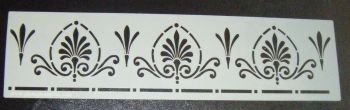 Art Nouveau Border Stencil for Cake or Crafts