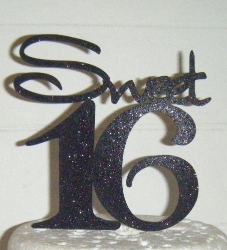 Sweet 16 Cake Topper 3