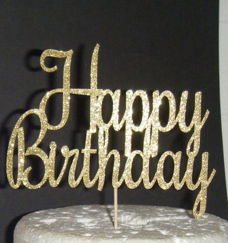 Happy Birthday Cake Topper 9