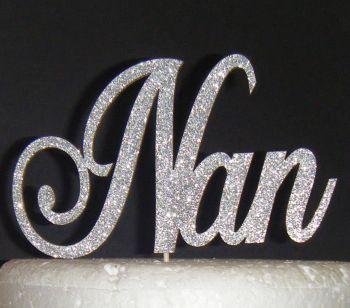 Nan Cake Topper