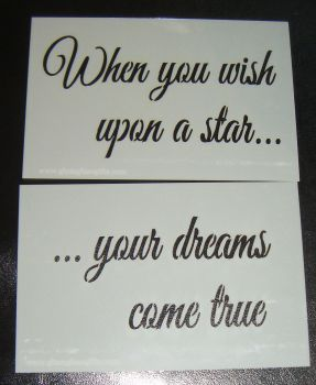 When you wish upon a star ... Cake or Craft stencil