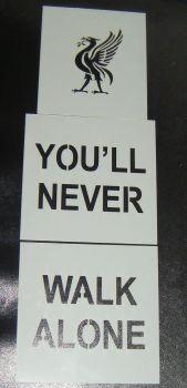 You'll Never Walk Alone Cake Stencil