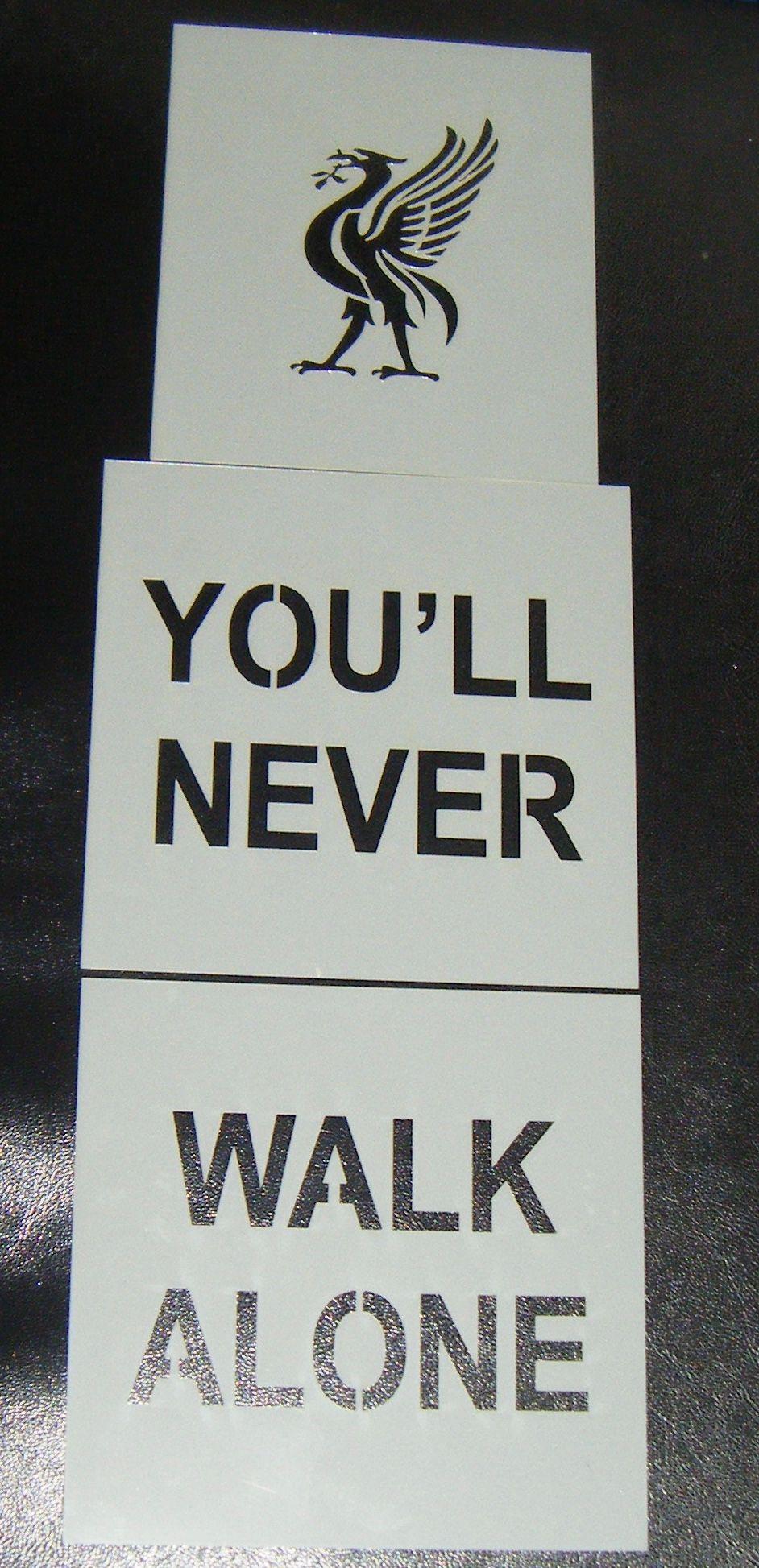 You''l Never Walk Alone Cake Stencil