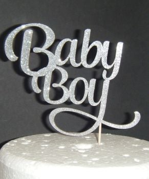 Baby Boy Cake topper - 2