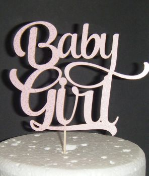 Baby Girl Shower Cake topper - 2