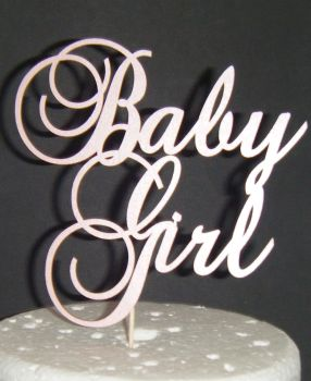 Baby Girl Shower CakeTopper - 3