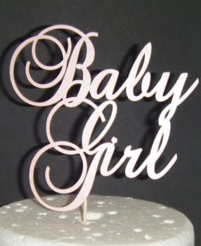 Baby Girl Shower Cake topper - 3
