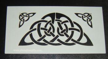 Celtic Knot Stencil 2