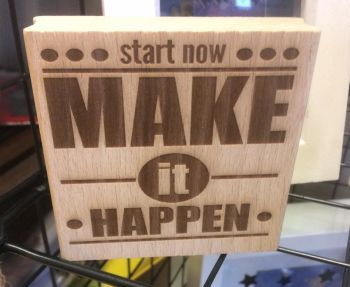 Start Now - Make it Happen