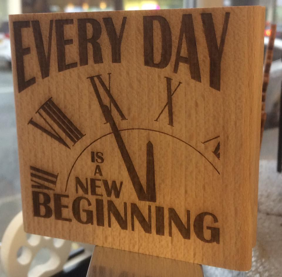 Every Day is a New Begining