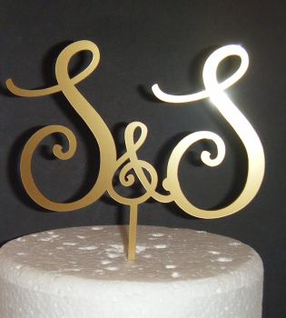 Beautiful Initials Letters Topper