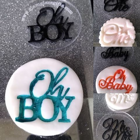 Cupcake Impression Stamp - Any Existing design