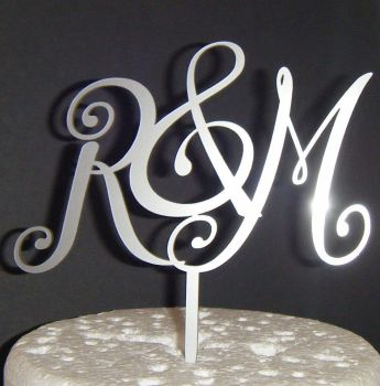 Initials Letters Topper - Shy