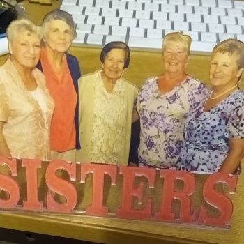 Photo Message Sign - Lasercut Acrylic Custom Order Design