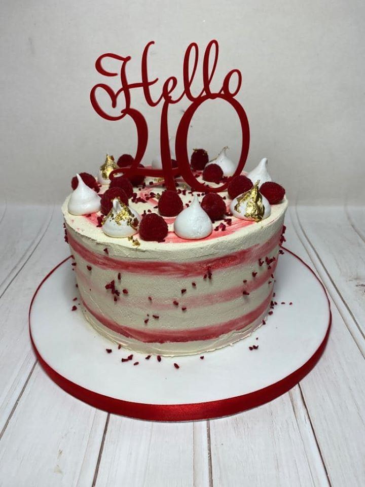 Hello 30, 40, 50, 60, 70 etc  Cake Topper