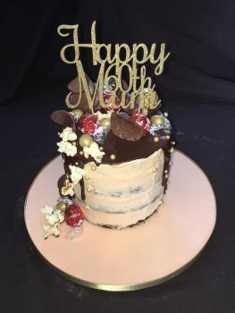 Happy (any Number) Mum  Cake Topper Roch - MUM only!