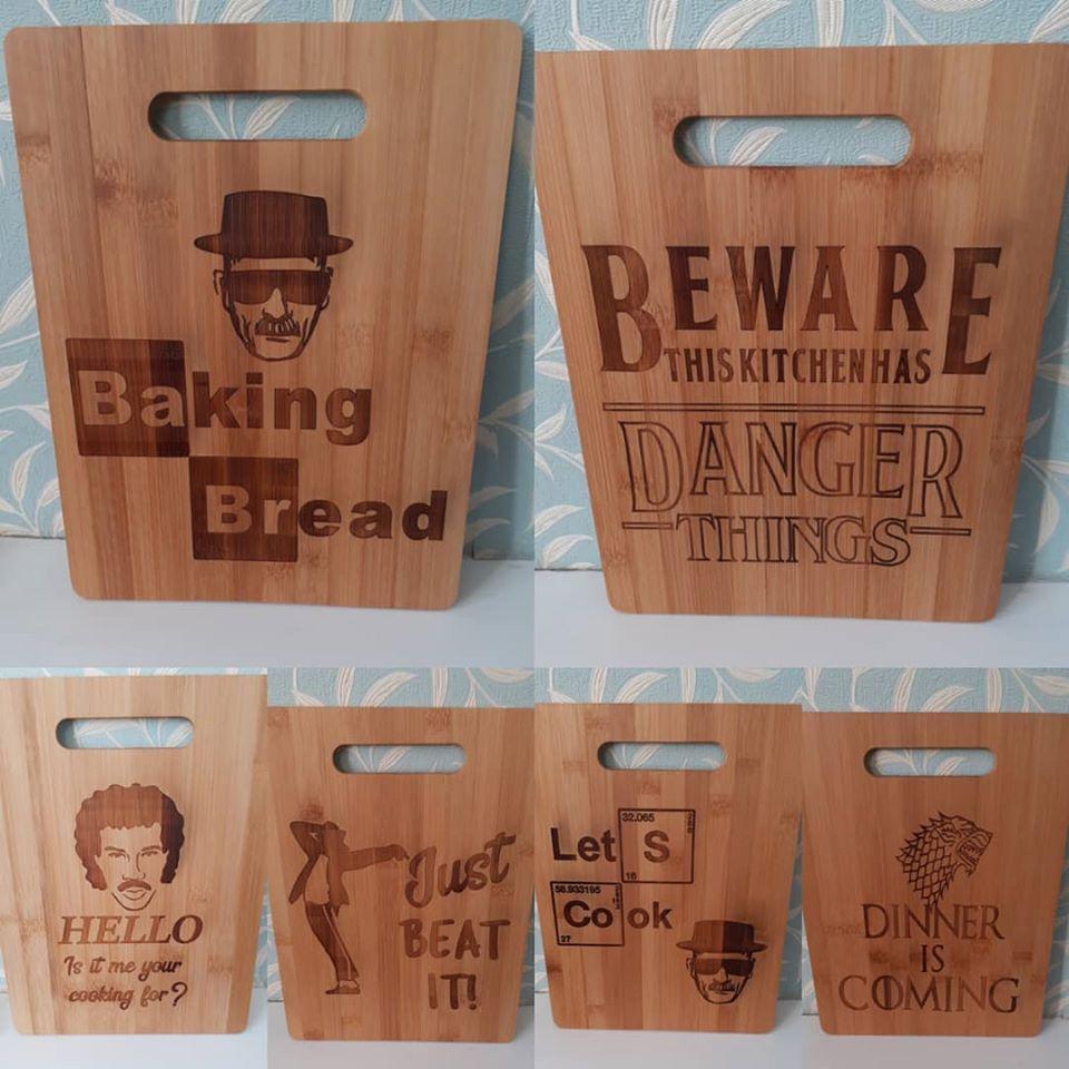 Bamboo Chopping Board - Any Design