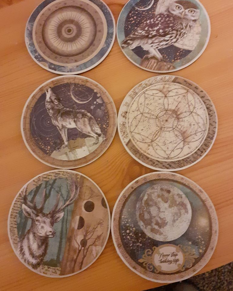 Coasters and Decoupage Gifts