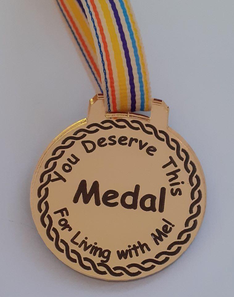 Lockdown Laser Engraved Acrylic Medal Hero, Home Schooling, etc
