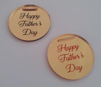 Mirror Acrylic Luxury Mini Gift Tag - Business or Wedding, Christening etc
