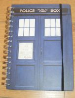 Dr Who A5 Lined Paper Notebook Journal