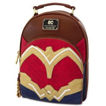 Loungefly Wonder Woman DC Mini Backpack  Bag