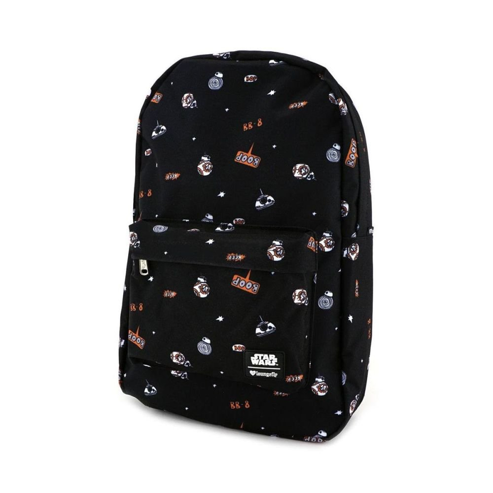 BB8 Star Wars  - Loungefly Nylon Backpack Print