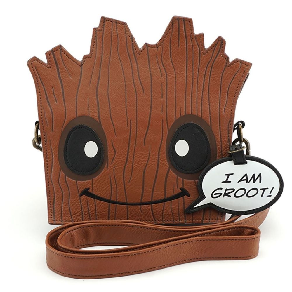 Groot - Guardian of the Galaxy -  Cross Body Loungefly Bag