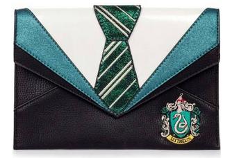 Danielle Nicole Harry Potter Slytherin Uniform Clutch Bag