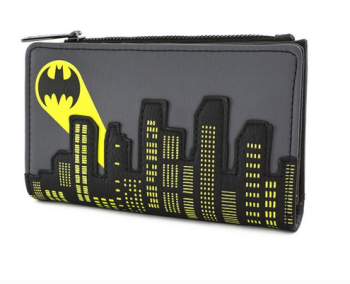 Loungefly x DC Comics Batman 80th Anniversary City Signal Flap Purse