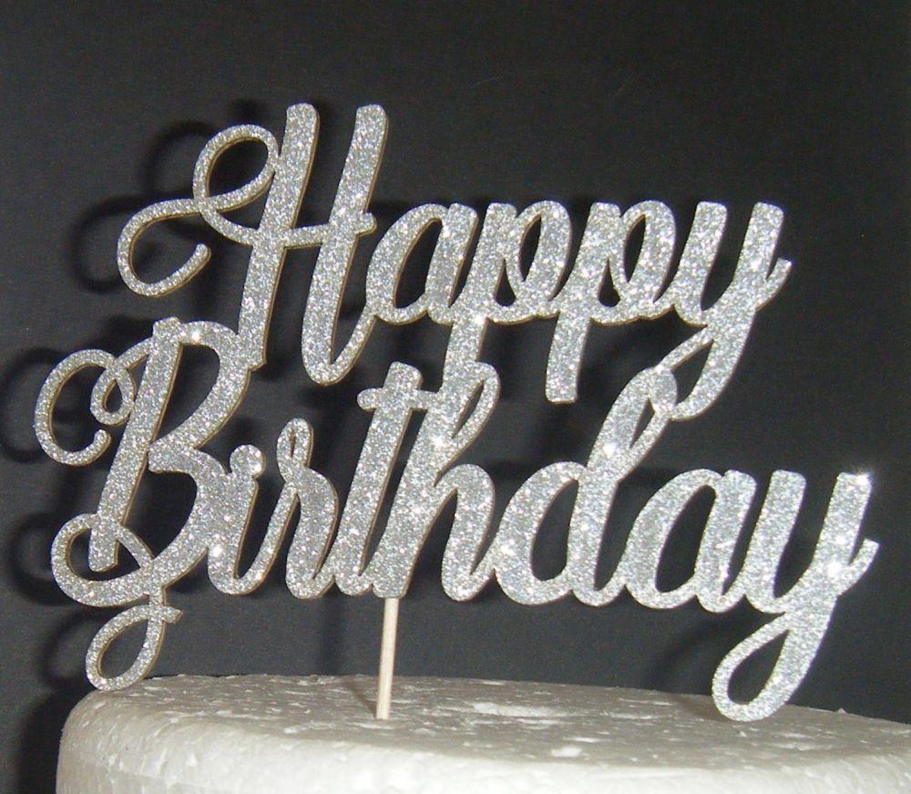 Happy Birthday Cake Topper 10