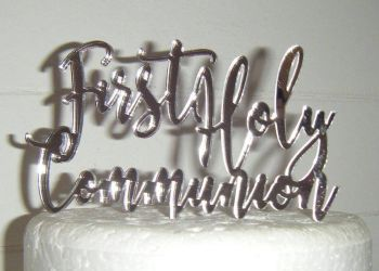 First Holy Communion Cake Topper Design 3