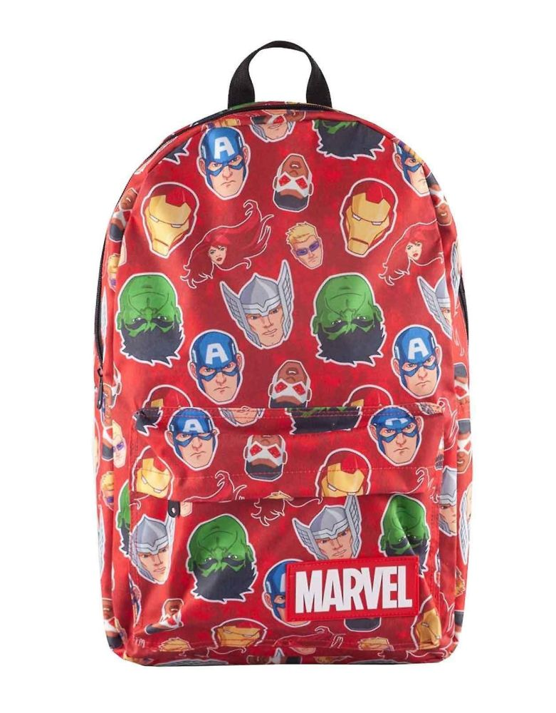 Marvel Characters- Cap, Thor, Iron Man Hulk etc  AOP Print Backpack