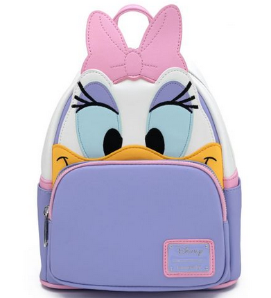 Disney Loungefly Daisy Duck Cosplay Mini Backpack