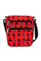 Mickey Mouse Disney  - Loungefly Nylon Passport Bag All Over Print