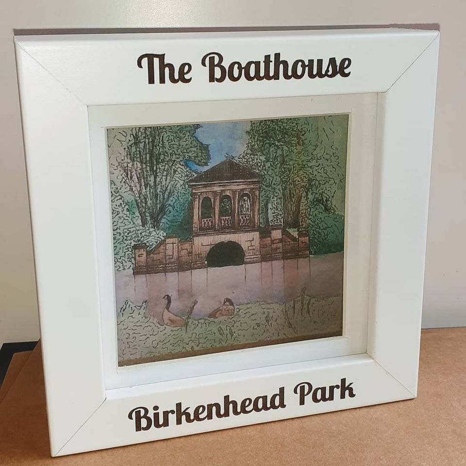 Boathouse - Mini Frame - Birkenhead Park