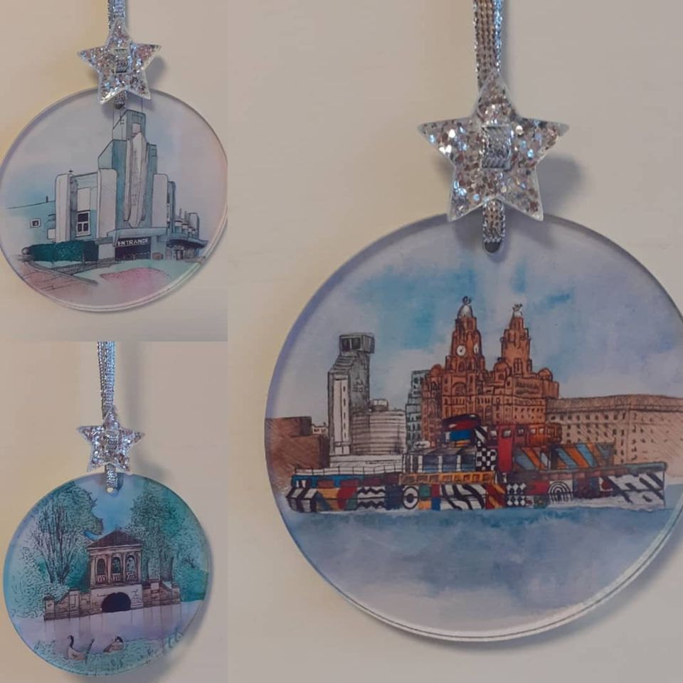 Christmas Tree Bauble Decoration - Any Picture or Photograph
