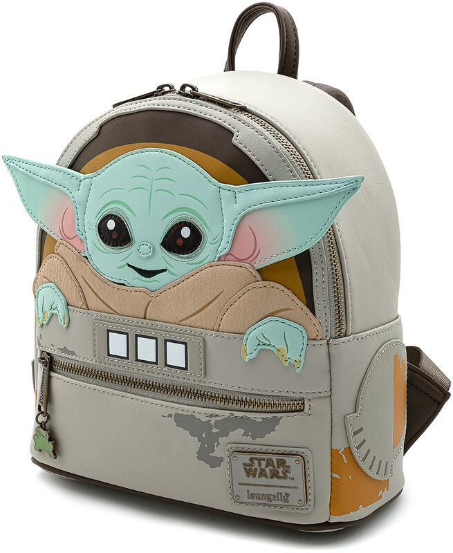Star Wars!  Loungefly Backpack Baby Yoda Child