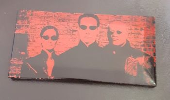Matrix Laser Engraved Wall Picture Tile