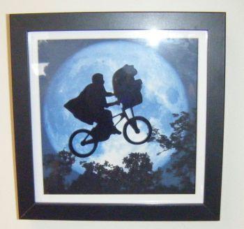 ET Moon Frame - Lasercut Design