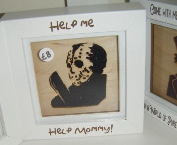 Mini Frame - Jason - Help Me Help Mommy - Horror