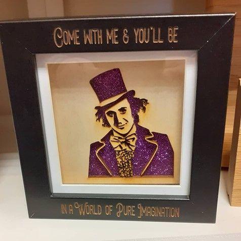 Mini Frame - Willy Wonka - World of Imagination
