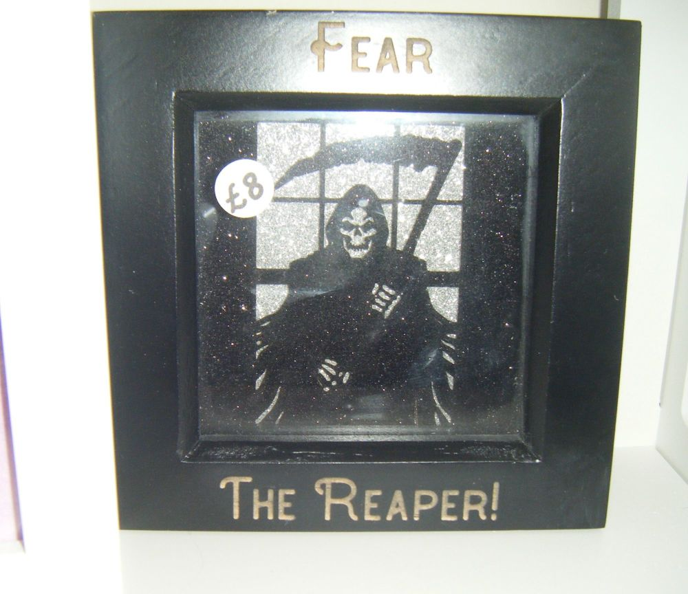 Mini Frame - Grim Reaper - Fear The Reaper - Horror