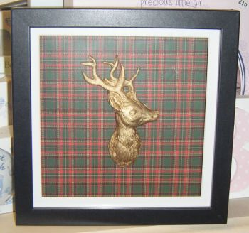 Stag Head - Frame - Can be Personalised
