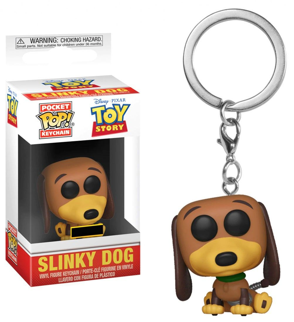 Slinky Dog - Mini Funko Pocket Pop Keyring Keychain