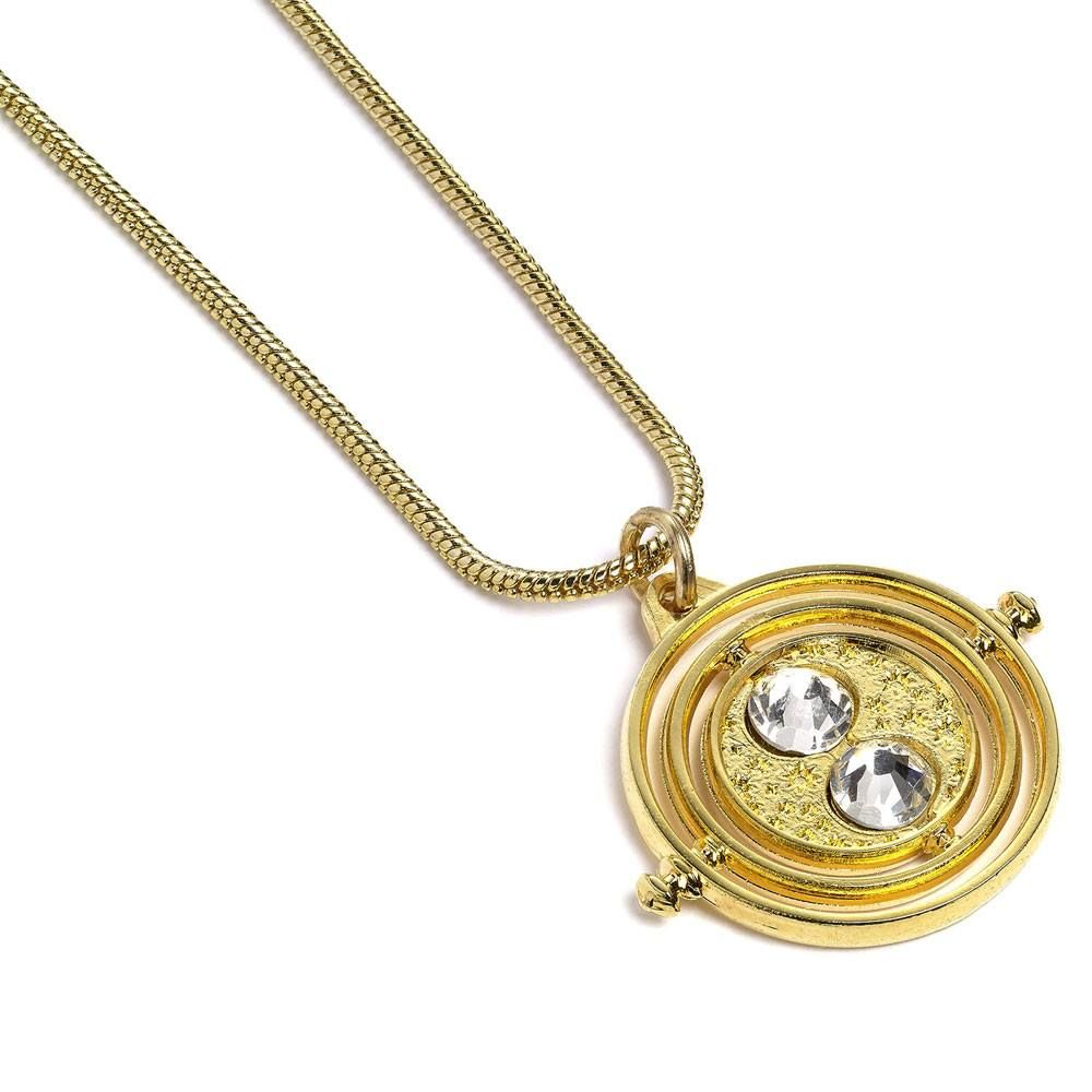 Harry Potter Time Turner Necklace Gold Plated