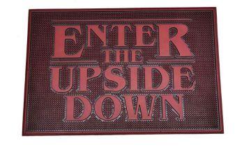 Stranger Things Rubber Door Mat -  Enter the Upside Down